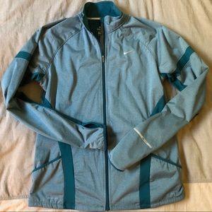 NIKE | Dri Fit Teal Running Jacket Size L